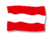 AT-Flagge-Wellen