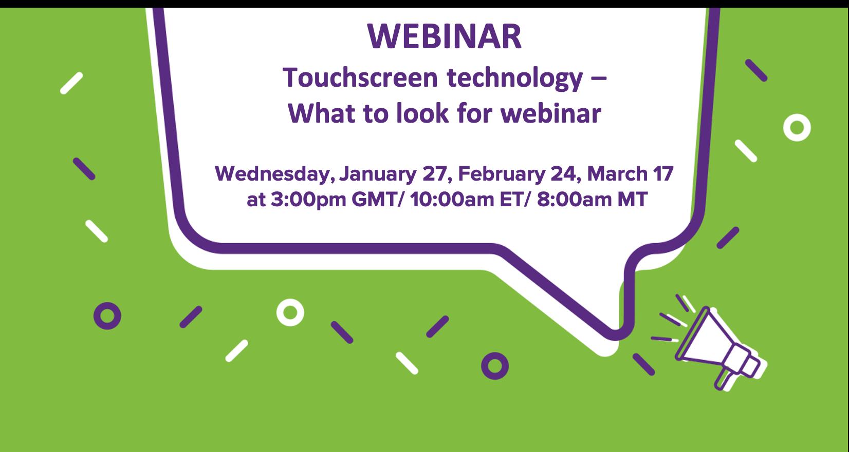Q4 Tocuhscreen tech webinar